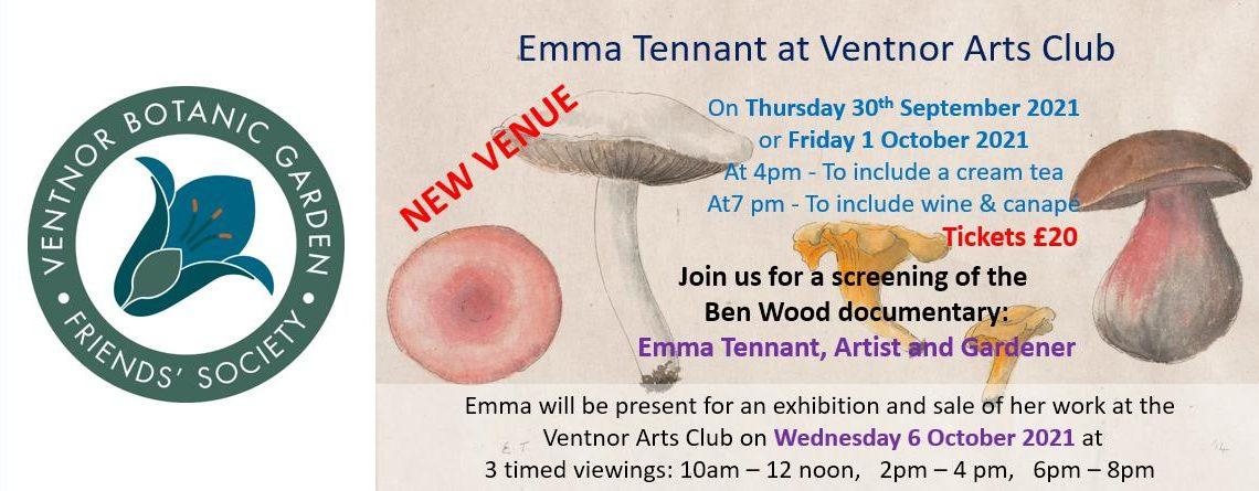 Emma Tennant at Ventnor Arts Club